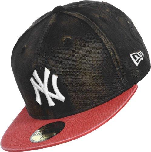 New Era Bleach Over New York Yankees casquette 7 3/8 black/red