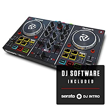 Numark Party Mix, Starter DJ controller with built-in sound card & light show and virtual DJ