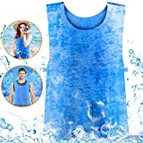 Ice Cooling Vest for Men Women MS Outdoor Sport Working Evaporative Sports Medicine Products High Temperature Protective Clothes