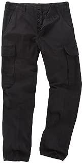 RomeoTrading Men's Moleskin Washed Cotton Combat Trousers