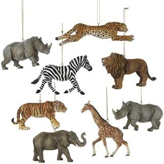 african animal christmas ornaments