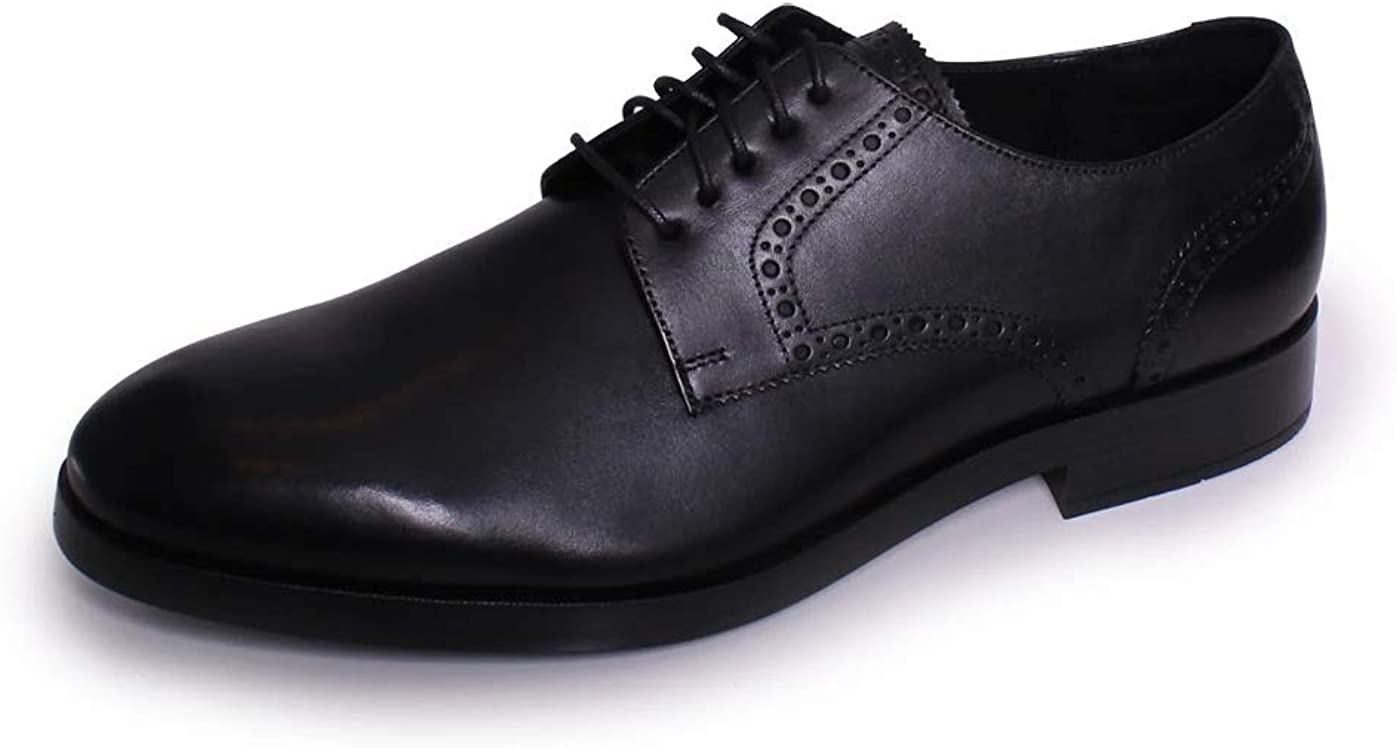 Cole Haan Men's Henry Grand Plain Derby Oxford C24150 Black