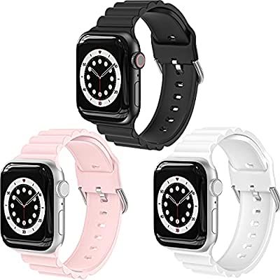 Amazon - 49% Off on  Bands Compatible with Apple Watch Band 44mm 42mm 40mm 38mm