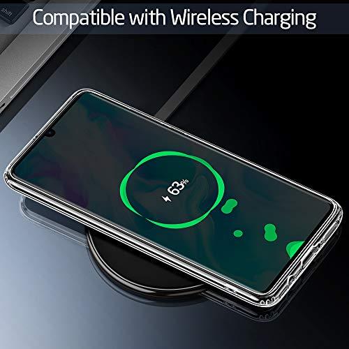 ESR Glashülle kompatibel mit Huawei P30 Lite - 9H Hartglas Handyhülle mit dualer Rückseite - Kratzfeste Schutzhülle mit weichem TPU Bumper für Huawei P30 Lite - Klar - 9