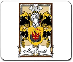 MacDonald of the Isles Family Crest Coat of Arms Mouse Pad