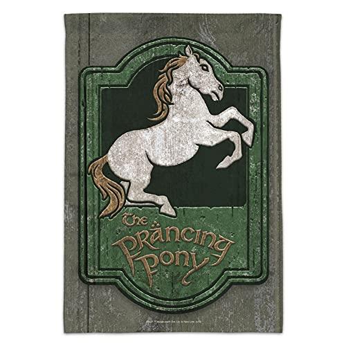GRAPHICS und MORE Herr der Ringe The Prancing Pony Gartenflagge