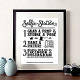Selfie Station Zeichen Drucken Teilen Sie Ihr Bild auf