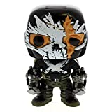 Funko - Figurine Marvel - Civil War - Crossbones Battle Damaged Exclu Pop 10cm - 0849803075279...