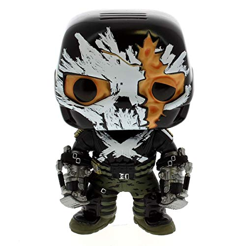 Funko - Figurine Marvel - Civil War - Crossbones Battle Damaged Exclu Pop 10cm - 0849803075279