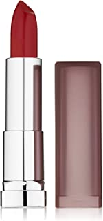 Maybelline New York Color Sensational Red Lipstick Matte Lipstick, Rich Ruby, 0.15 oz, 2 Count