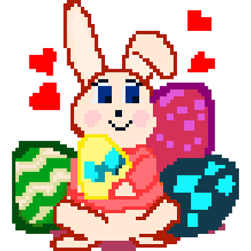 Easter Eggs Color By Number - Pixel Art Festival Coloring Book