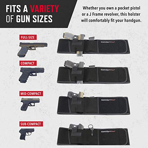 2. ComfortTac Ultimate Belly Band Holster 2.0