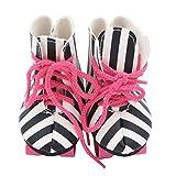 für American Girl Puppe Leopard Print Schuhe Riemenscheibe Skating Schuhe (außer Puppen), Malloom...