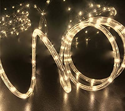 Warm White LED Flexible Rope Light Kit For Indoor / Outdoor Lighting, Home, Garden, Patio, Shop Windows, Christmas, New Year, Wedding, Party, Event