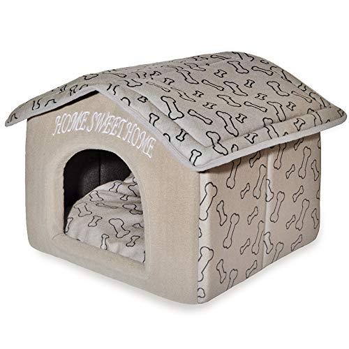 Best Pet Supplies Portable Indoor Pet House - Perfect for Cats and...