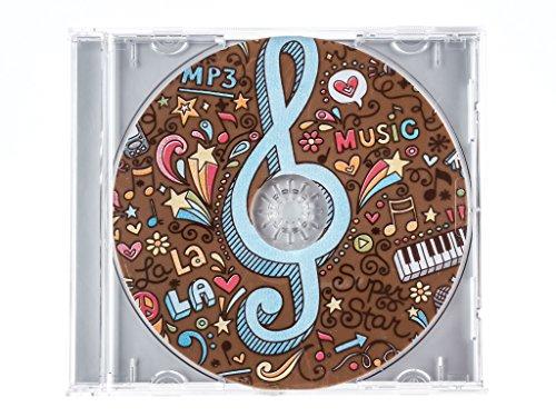 "Schokoladen Geschenkpackung ""CD Music"" 45g"