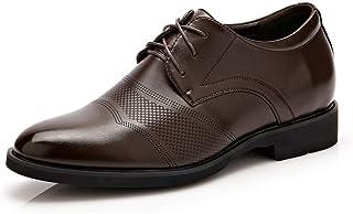 [Fengbao] 革靴 ビジネスシューズ メンズ シークレット 春 6cm UP 靴 スニーカー 通勤 レースアップ メッシュ