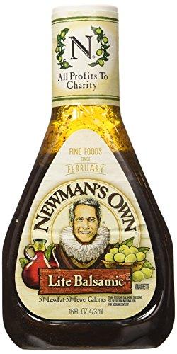 Newman's Own Light Balsamic Dressing, 16 oz, 2 pk