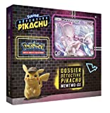 Pokémon - Collection Detective Pikachu Coffret 6 boosters 'Mewtwo-GX' 190 PV - Version Francaise