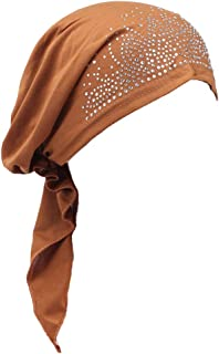 Lovoski Muslim Women's Hijab Cancer Hat Chemo Cap Hair Loss Head Scarf Turban Wrap