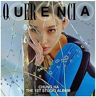 Chungha Querencia 1st Studio Album CD+1p Mini Poster On Pack+200p Magazine(Photo+Lyrics Book)+1p Invoice Paper+4p PhotoCar...