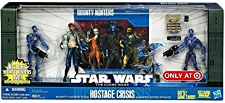 Star Wars s 2010 Exclusive Action Figure 4 pack Battle pack Hostage Crisis 2x Commando Droids Shahan Alama ino on Rob