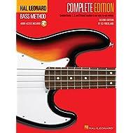 Método de Hal Leonard Bass - Edición completa: libros 1, 2 y 3 ¡Unidos en un solo volumen fácil de usar!: Complete Edition