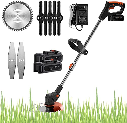 Erba trimmer cordless elettrico handheld 21V bordo bordo trimmer regolabile giardino strimmer benzina strimmers electopic leggero trimmer 10000 mAh
