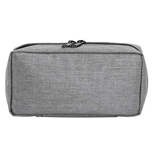 Insulin Cooling Travel Case,Portable Insulin Cooler Protector Bag Organizer,Diabetic Medication Cooler,Medical Insulation Cooling Pouch Case(Grey)
