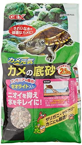 ジェックス カメの底砂 2.5kg
