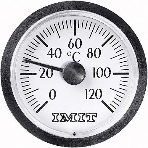 IMIT 100848 Kapillar-Einbau-Thermometer klein