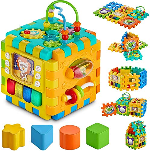Smart Toys Activity Cube for Toddler & Babies Early Development Toy for Kids