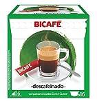 Bicafé Descafeinado16 cápsulas compatibles Dolce Gusto