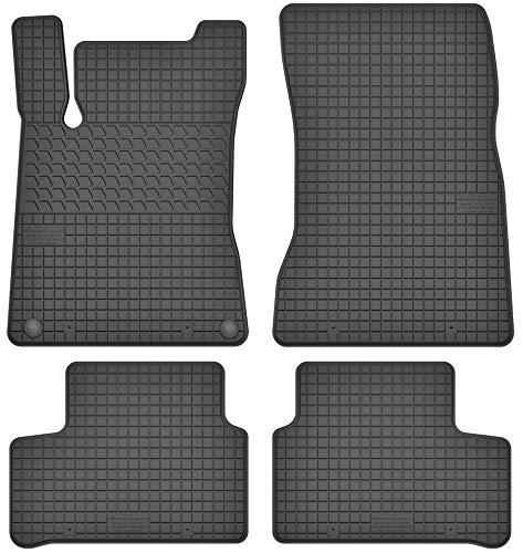 Motohobby Gummimatten Gummi Fußmatten Satz für Mercedes-Benz A W177 / B W247 / CLA C118 / X118 (ab 2018) - Passgenau