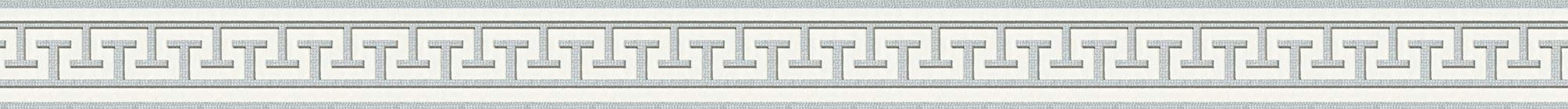 A.S. Création 2662-31 zelfklevende rand. Natuur 5,00m x 0,04m zilver, wit