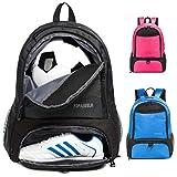 Tindecokin Soccer Bag Youth Soccer Backpack Basketball Bag Soccer & Basketball & Football & Volleyball Backpack Training Package