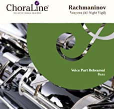 Rachmaninov Vespers (All Night Vigil) Double CD BASS Rehearsal CD