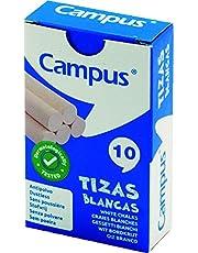 Campus - Gessetti bianchi, confezione da 10