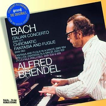 バッハ:イタリア協奏曲、他