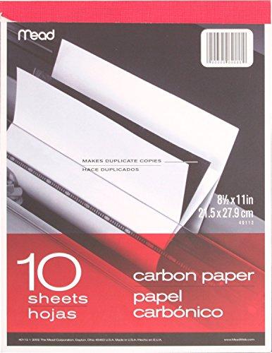 Mead 40112 - Carbon Paper Tablet - 8.5
