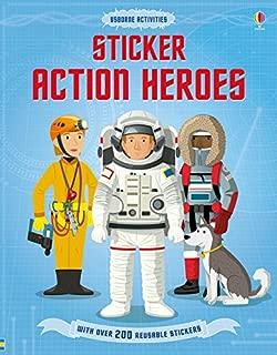 Sticker Action Heroes (Sticker Dressing)