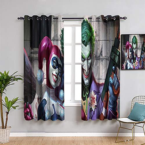 51owXE39ZEL Harley Quinn  Curtains