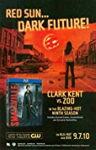 Smallville: Red Sun Dark Future! Clark Kent Vs. ZOD: 9th Season: Great Original DVD Print Ad!
