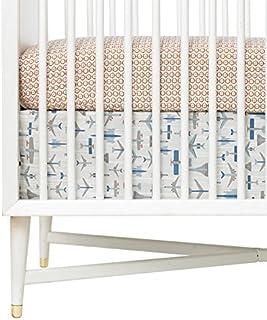 Dwell Studio Flight Percale Crib Skirt
