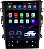 BONAE Navegación GPS para Ford Mondeo 2013-2018, Radio Multimedia estéreo para automóvil 2 DIN 9.7 Pulgadas Sat Nav Pantalla táctil Nav Bluetooth WiFi Mirrored Links