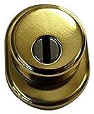 Mr-Mondial MRKIT1ORO Protezione Cilindro Defender + Cover + mostrina + 2 Viti 12.9, Oro, S...