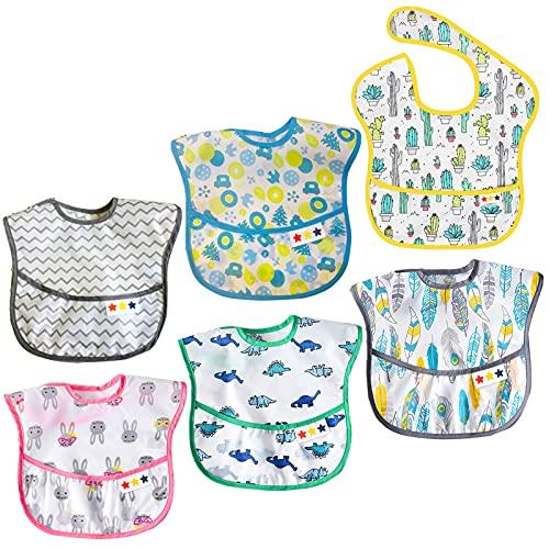 Baberos Impermeables Bebé Baberos Niños/Niñas