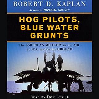 Hog Pilots, Blue Water Grunts audiobook cover art