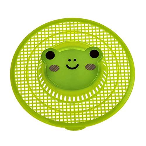 Filtro de Fregadero Filtro de residuos Cocina Coleccionista de residuos de Dibujos Animados Lindo Patrón de Tina de bañera Filtro Baño Tapón de Cabello Catcher (Color : GR)