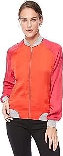 Stradivarius Zip Up Jacket for Women - Red (S)